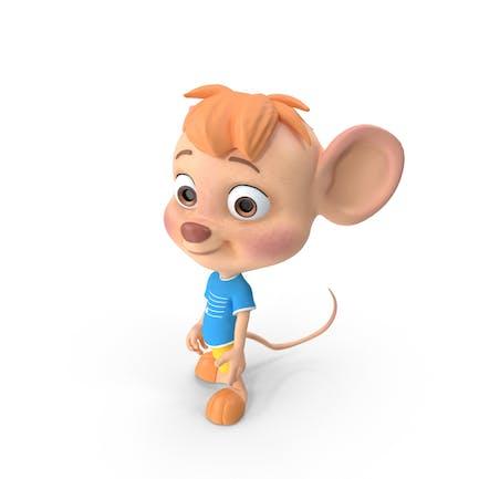 Cartoon Boy Maus
