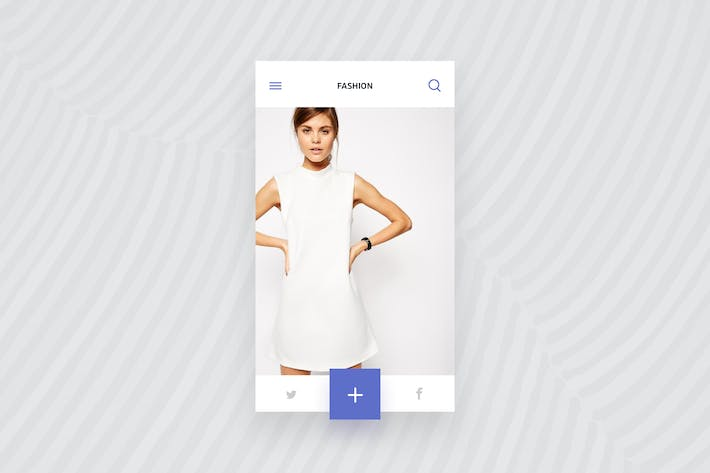 Thumbnail for eCommerce Clothing Shop Screen