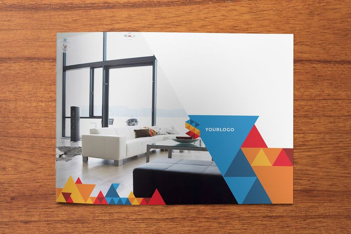 Cover Image For Geometric Brochure
