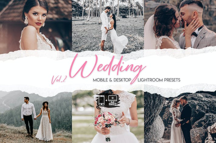 Thumbnail for Wedding Lightroom Presets Vol. 2