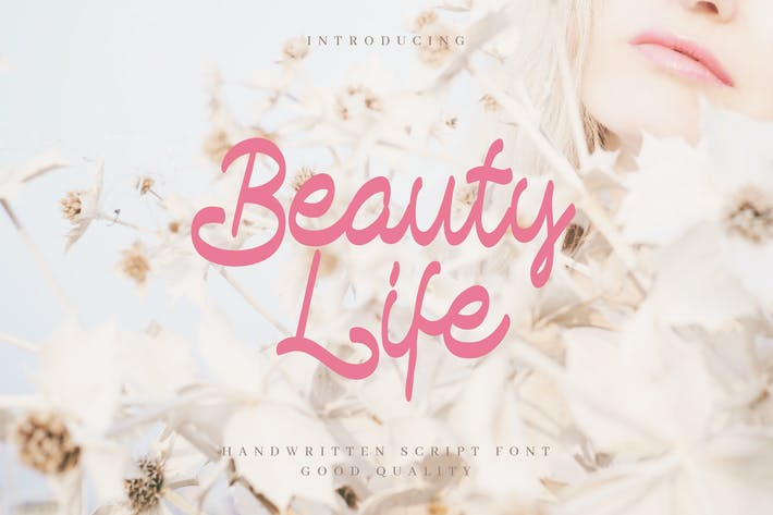 Thumbnail for Beauty Life - Romantic Handwritten Script