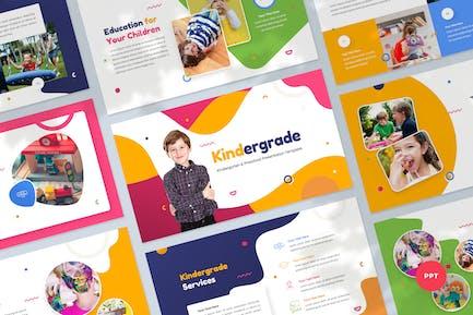 Kindergarten & Preschool Powerpoint Presentation