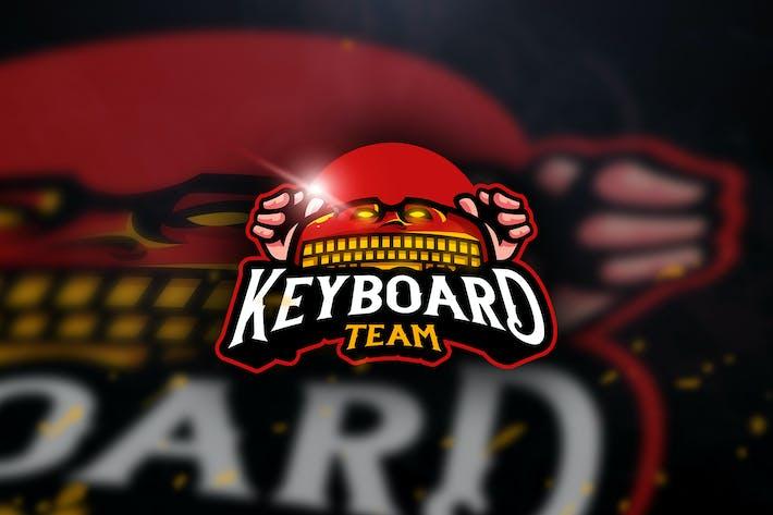 Thumbnail for Keyboard Team- Mascot & Esport Logo