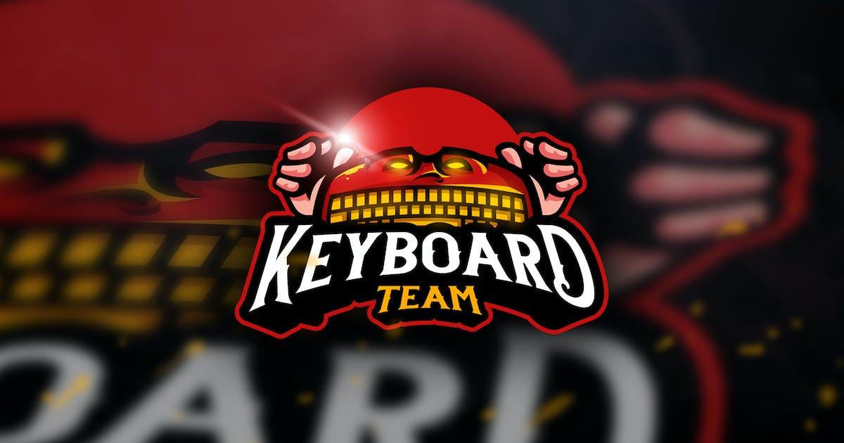 Download Keyboard Team- Mascot & Esport Logo by aqrstudio