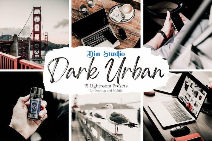 Thumbnail for Dark Urban Lightrooom Presets