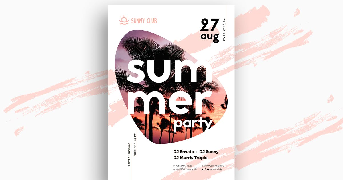 Download Summer Poster by Yulko