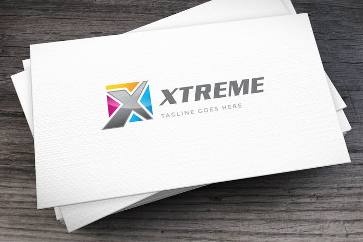 Thumbnail for Xtreme Letter X Logo Template