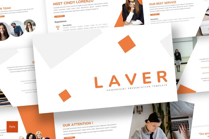 Thumbnail for Laver - Business Powerpoint Template