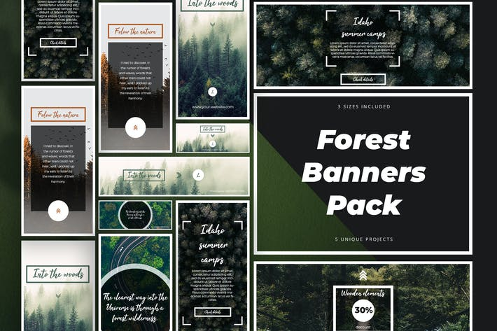 Thumbnail for Forest Banner Kit