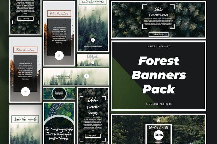 Thumbnail for Forest Banner Kit