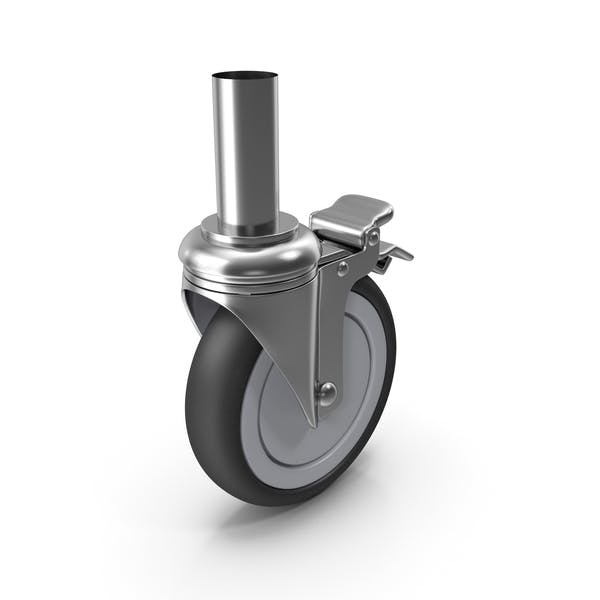 Caster Roller Wheel with Brake