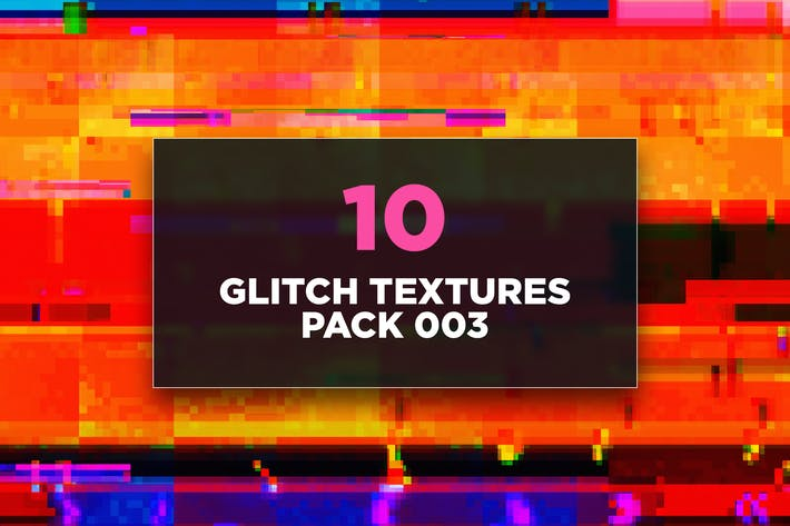 Glitch Texturen Pack 003