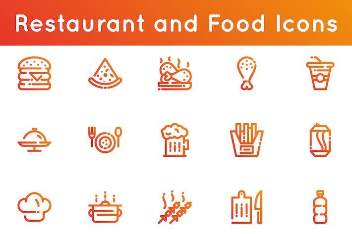 Thumbnail for Icones ne du restaurant et de la nourriture