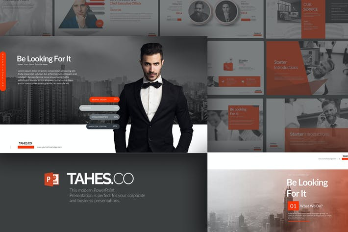 Thumbnail for Tahes.Co PowerPoint Template