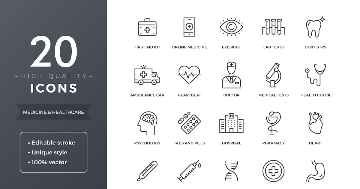 Download Medical Icons by filborg