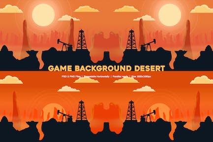 Game Background Desert