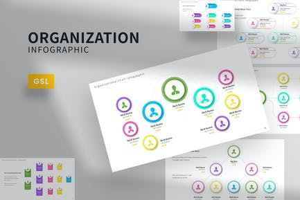 Organization Infographic Google Slides Template