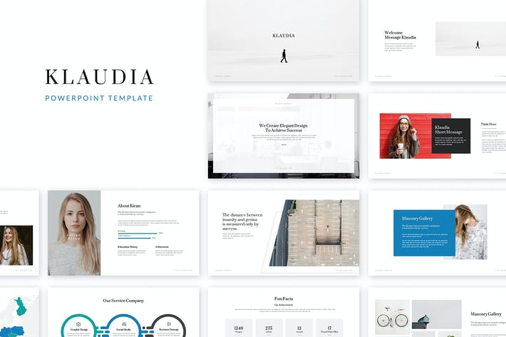 Cover Image For Klaudia Powerpoint Template