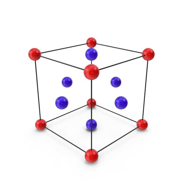Face Centered Crystal Cubic Lattice Structure