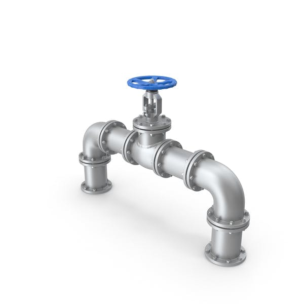 Cover Image for Gate Valve and Pipes
