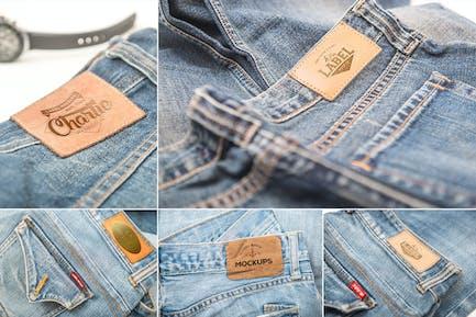 Jeans Label Mockups