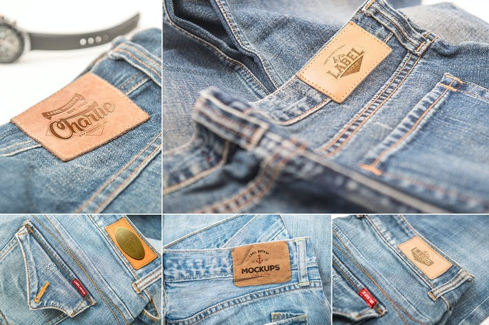 Thumbnail for Jeans Label Mockups