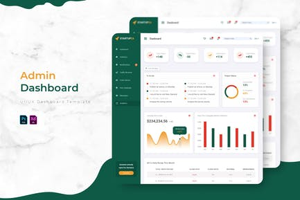 Startupza | Admin Dashboard Template