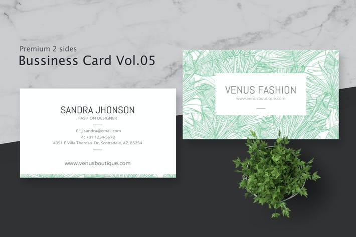 Thumbnail for Business Card Pro V.005