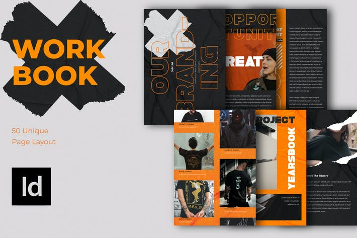 Thumbnail for WORKBOOK VOL 2 - Magazine Template