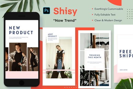 Shisy Insta Stories - Now Trend