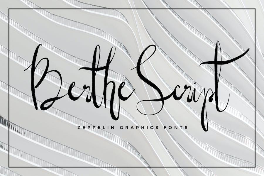 Berthe Script Font