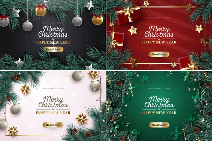 Thumbnail for Christmas Holiday Backgrounds