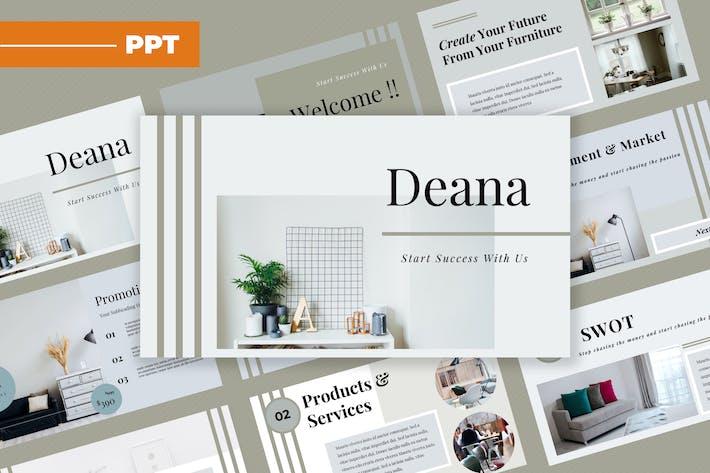 Deana Furniture Powerpoint Presentation