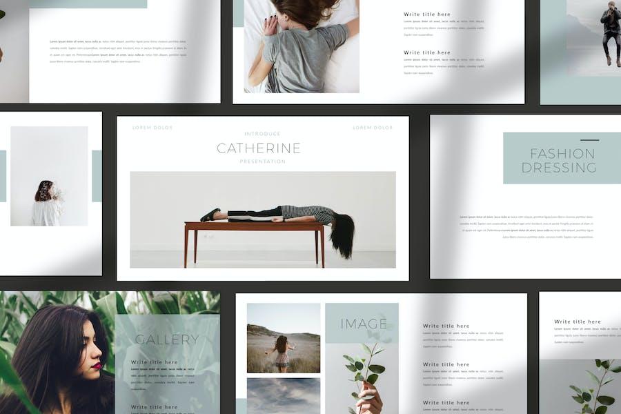 Catherine - Keynote Minimal  Business Company