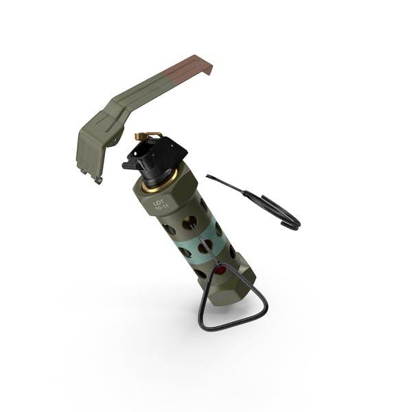 Grenade M 84 Engaged