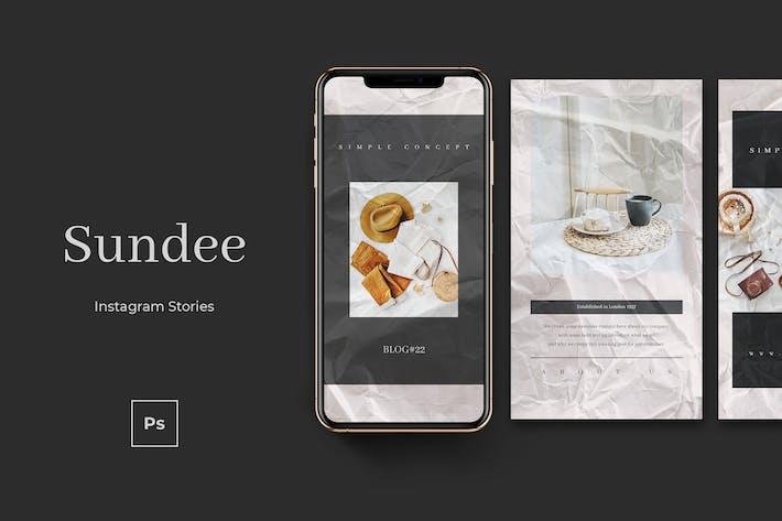 Thumbnail for Sundee Instagram Stories