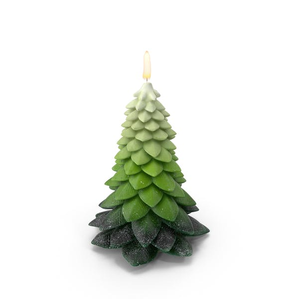 Thumbnail for Tree Shaped Candle