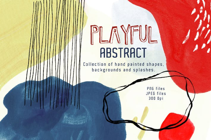 Thumbnail for Playful Abstract Design Toolkit