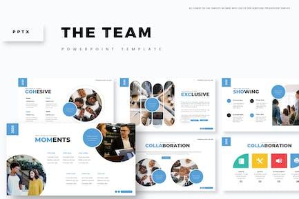 Команда — Шаблон Powerpoint