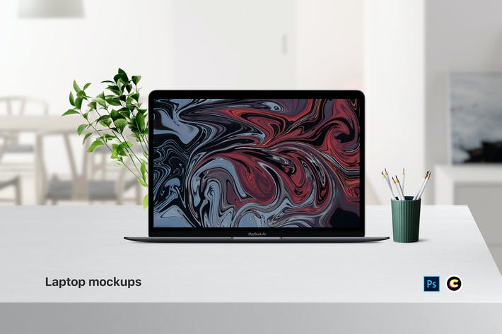 Thumbnail for Laptop Mockups