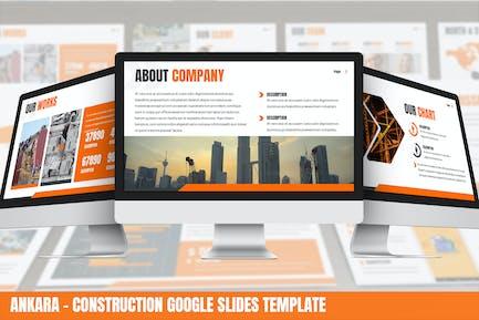 Ankara - Construction Google Slides Template