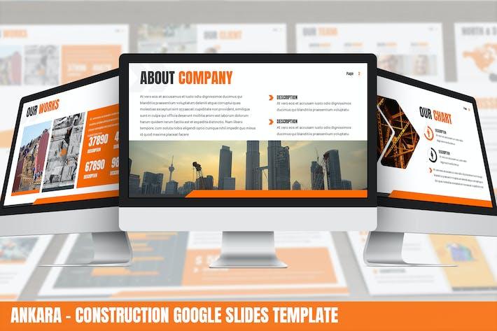 Thumbnail for Ankara - Construction Google Slides Template