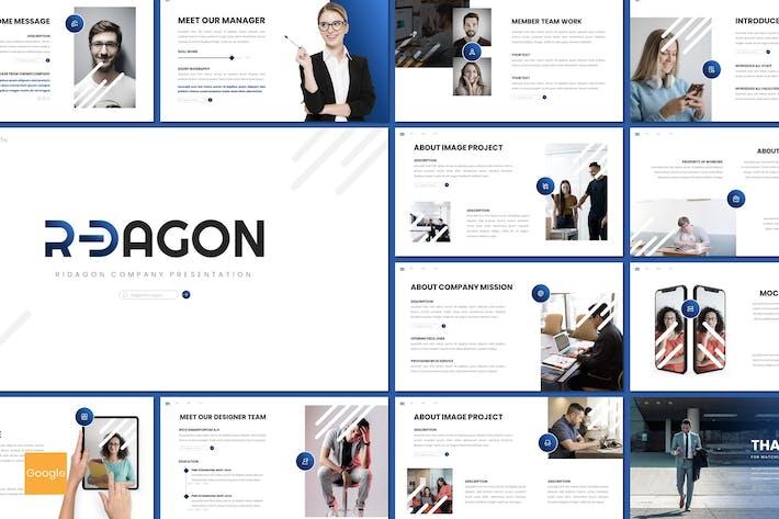 Thumbnail for Ridagon - Business Google Slides Template