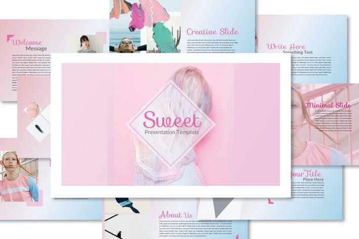 Thumbnail for Sweet Powerpoint Template