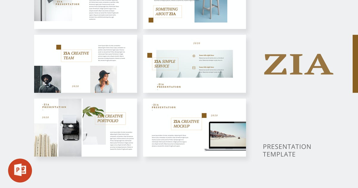 Download Zia - Creative Powerpoint Template by alexacrib