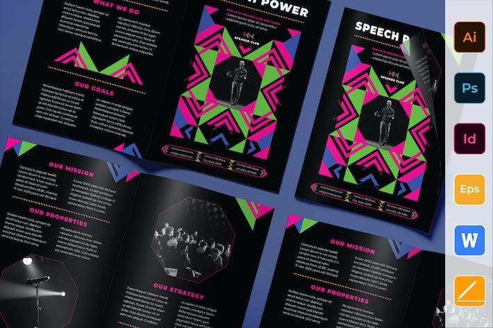 Thumbnail for Speaker Brochure Bifold