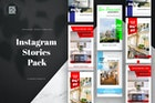 Real Estate Instagram Stories Banners Pack
