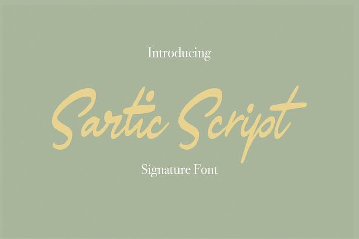 Thumbnail for Script sartique