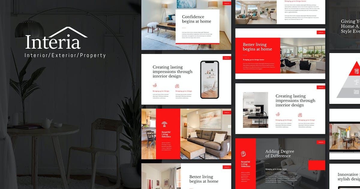 Download Interia - Home & Interior Keynote Template by Slidehack