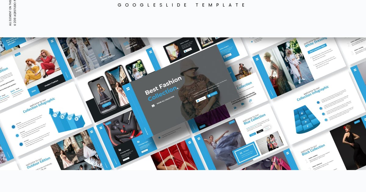 Download Fashion - Google Slides Template by aqrstudio